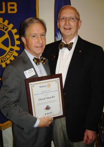 Rotary District Service Above Self Award