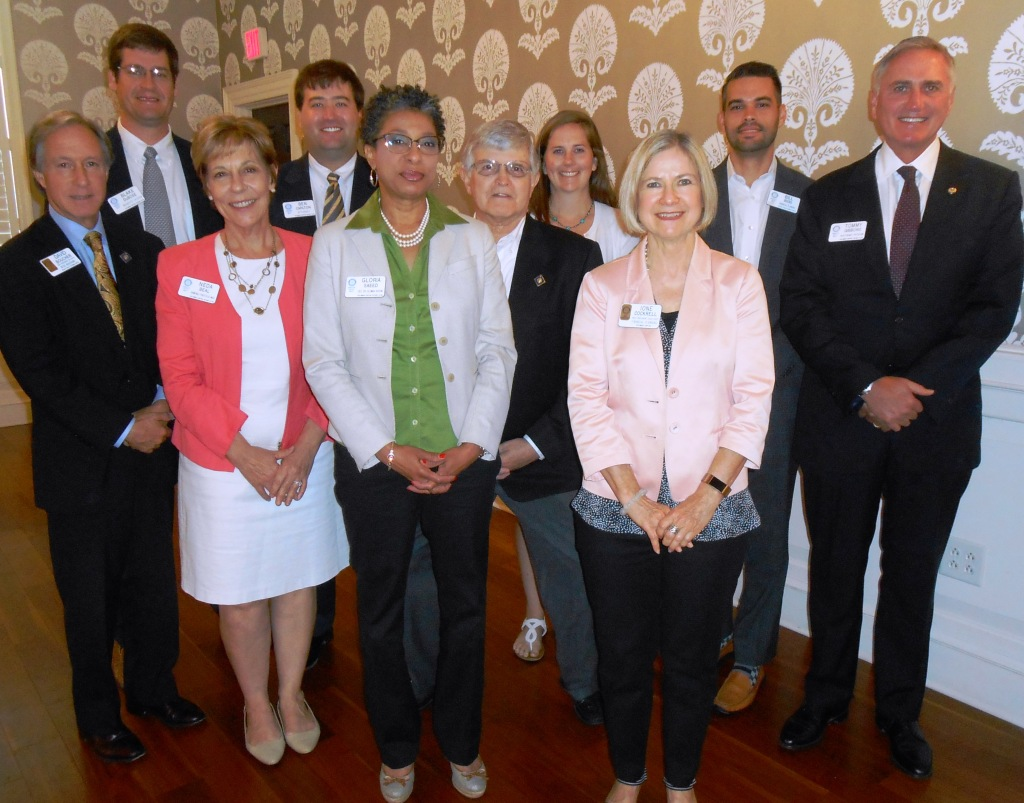 Capital Rotary Installs New 2017-2018 Board