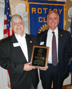 Craig Lemrow Columbia Capital Rotarian of the Year