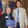 Andy Markl Becomes Paul Harris Fellow