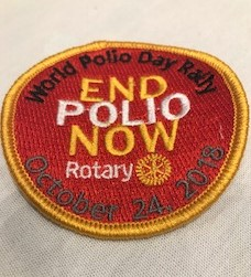 End Polio Patch