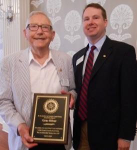 Gene Oliver honored