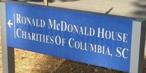 Ronald McDonald House Sign