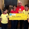Elementary Students Aid Polio Fight