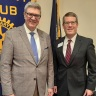 Higher Ed Director Becomes Capital Rotarian