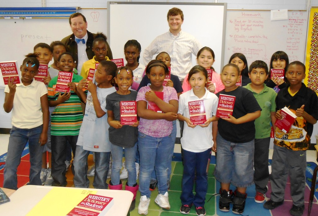 Columbia Capital Rotary Club dictionary project