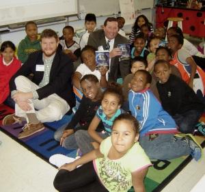 Happy Arden Elementary Students
