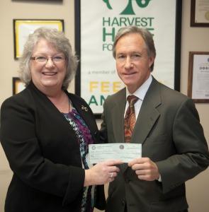 Harvest Hope Flood Relief donation
