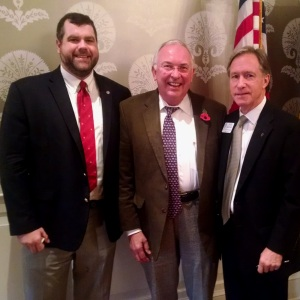 Manning, Peacock Join Capital Rotary