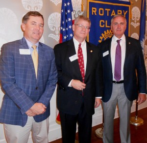 Searcy, Montgomery Saluted for Rotary Giving